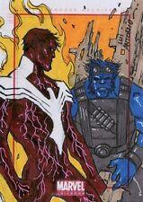 2014 Marvel Universe series 2 sketch card by Lui Antonio
