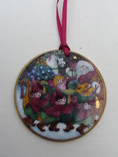BING & GRONDAHL Santa Claus Collection Ornament 1990 Porzellan