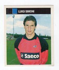 figurina CAMPIONI E CAMPIONATO 90/91 1990/91 numero 285 PISA SIMONI