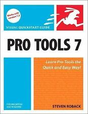 Pro Tools 7 for Macintosh and Windows (Visual QuickStart Guide)
