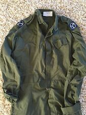 RAF Royal Air Force Issued Coveralls sz 190/100 Army Green Boiler Suit Overalls