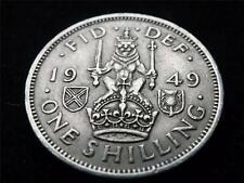 1949 GEORGE VI SCOTTISH SHILLING COIN