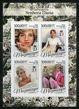 MOZAMBIQUE 2016 55th BIRTH ANNIVERSARY OF PRINCESS DIANA IMPERF  SHEET MINT NH