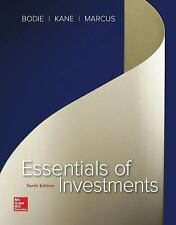 Essentials of Investments, Marcus, Alan, Kane, Alex, Bodie, Zvi, Very Good condi