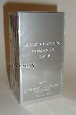 ROMANCE SILVER RALPH LAUREN MEN EDT 50 ML SPRAY 1.7 OZ COLOGNE PERFUME SEALED
