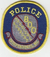INDEPENDENCE POLICE TACTICAL SUPPORT MISSOURI MO PATCH