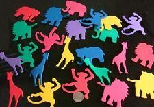 Foam jungle animal cut outs great 4 scrap booking promote animals in the wild
