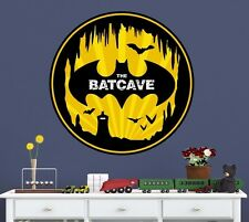 Batman Batcave Man Cave Wall Decal (Removable and Replaceable)