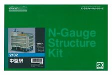 Greenmax No.2132 Mid Size Station Building 1/150 N scale Unpainted Kit New Japan