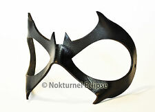 Batgirl Black Leather Mask Cosplay Gotham Halloween Superhero Geek Costume
