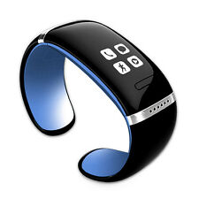 Smart L12S Bluetooth Wrist Watch Bracelet Passometer for Cell Smart Phone Blue