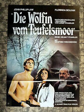 WÖLFIN VOM TEUFELSMOOR * THE DEVILS BED - A1-FILMPOSTER - German 1-Sheet ´78 LAW