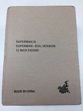 Hot Toys MMS 207 Superman (Evil Version) Christopher Reeve 12 inch Figure NEW