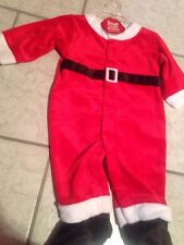 Carters Baby Boy Santa Holiday Christmas Outfit Pajama M 3-6 New