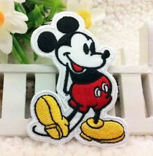 Disney Mickey mouse  Embroidered Iron On / Sew On Patch