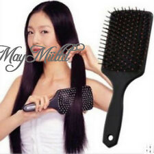 Healthy Paddle Cushion Hair Loss Massage Brush Hairbrush Comb Scalp S