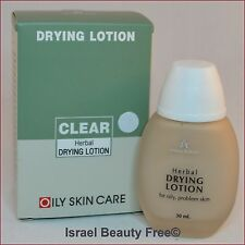 Anna Lotan Clear Herbal Drying Lotion Demi Makeup for Acne Prone Skin 30 ml