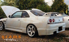 Nissan Skyline R33 GTR Style Rear Fenders +50mm for Wide Body Conversion v4