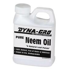 Dyna Gro Pure Neem Oil 8oz - 100% organic natural leaf polish shine