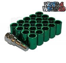 20 x Tuner Wheel nuts GREEN 12x1.25 fits Nissan 200sx 180sx S14 S15