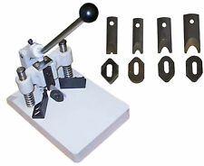 All Metal Corner Rounder Cutter 4 die 1/8,1/4,3/8,1/2,Thick Stack,Aluminum Plate