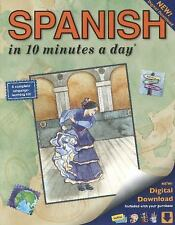 10 Minutes a Day: Spanish in 10 Minutes a Day by Kristine K. Kershul (2014,...