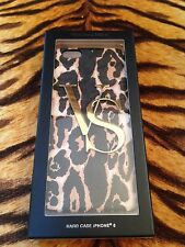 BNWT VICTORIA's segreto Leopardo Stampa iPhone 6 Custodia Rigida