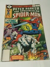 peter parker, the  spectacular spiderman # 25 , direct edition