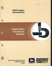 John Deere CTM67 Component Technical Tech Manual OEM Engine Accessories