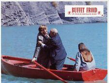 GERARD DEPARDIEU BERNARD BLIER BUFFET FROID 1979 VINTAGE LOBBY CARD ORIGINAL #4