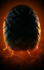 Encadrée imprimer-fiery dragon egg (médiéval mythique fantasy photo poster art)