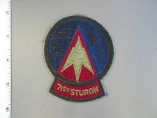 Large USAF 71st Student Squadron subdued patch from NS Meyer Library, brand new