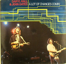 Daryl Hall & John Oates - A LOT OF CHANGES COMIN - LP - washed - cleaned - L4215