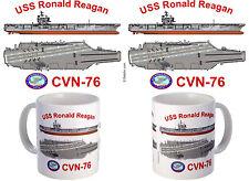 USS Ronald Reagan (CG-76) Coffee Mug