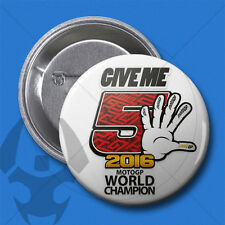 Ø28MM PIN CHAPA BADGE // MM93 // MARC MARQUEZ // GIVE ME 5 // moto GP CHAMPION 1