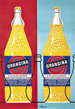 Art Ad Orangina Drinks Drink Deco  Poster Print