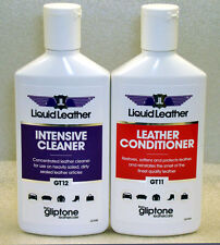 Gliptone Liquide Nettoyant Cuir & Conditioner + 2 GRATUITE G Chiffon
