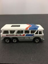 1980 Hot Wheels Greyhound Bus 1:64 Scale Made In Hong Kong