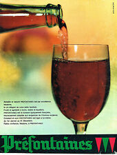 PUBLICITE ADVERTISING 014   1960   PREFONTAINES   vin
