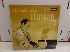 The Duke PLays Ellington Captiol T-477  33rpm 083016DBE