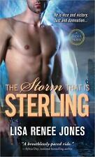 The Storm That Is Sterling (A Zodius Novel), Jones, Lisa Renee, Good Condition,