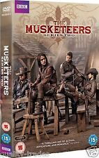 ❏ The Musketeers Series 2 DVD Full Second BBC Season + BONUS EXTRAs  ❏ Region 2