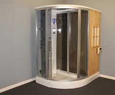 Steam Shower Wet/ Dry Sauna  ,Bluetooth.6 Year USA Warranty. Sale