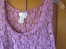 Gorgeous Lace Dress from MSSP in lovely Rose to Purple Shades, so pretty!