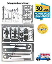 Combo Pack Survival Tool Credit Card Size & Escape Tool 1-3 Express Day Delivery