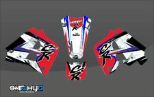 KIT ADESIVI GRAFICHE EASY CAMO SWITCHY HONDA CR 125 1991 1992 DECALS DEKOR