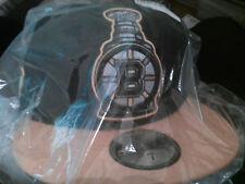 Boston Bruins hat Stanley cup Champions Hat 2011 big trophy stitched fitted hat
