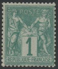 """FRANCE STAMP TIMBRE N° 61  """" TYPE SAGE 1c VERT """" NEUF xx  A VOIR"""