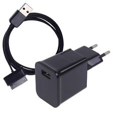 "EU Travel Wall Charger USB Cable for 7 / 8.9 / 10.1"" Samsung Galaxy Tab 2 Tablet"