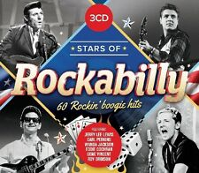 STARS OF ROCKABILLY - JERRY LEE LEWIS, ROY ORBINSON, GENE VINCENT - 3 CD NEU